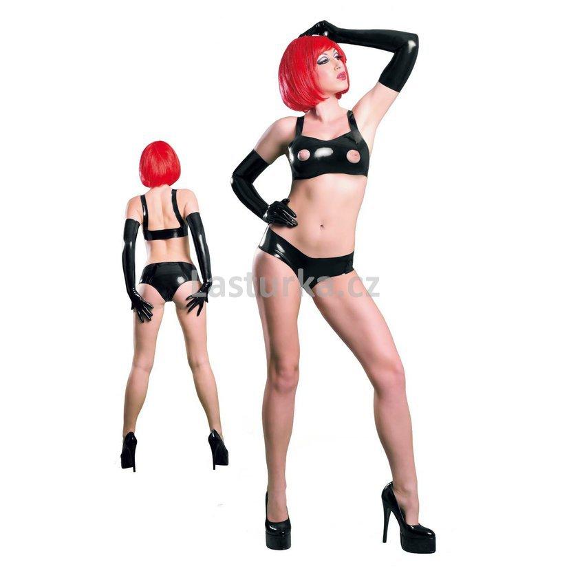 bd6f0fe0d61 vel. L  Latexové kalhotky Fantasy Fashion Woman